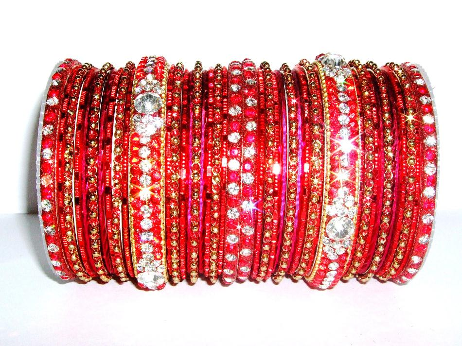 Red Indian Fashion Bangles