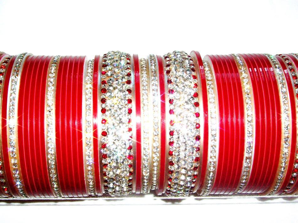 Red Indian Bridal Chura 2 6
