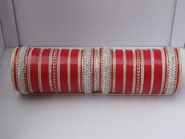 Red Indian Bridal Chura 2 4