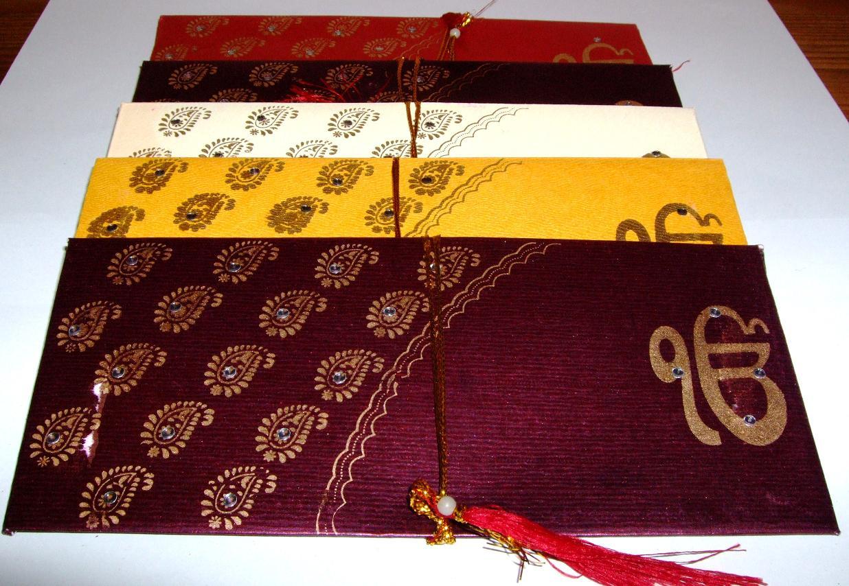 Indian Money Envelopes Pack Of 5