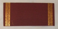Indian Money Envelopes - Maroon (Pack of 25)