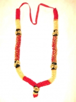Milni Haar/ Wedding Garlands (Red/Gold)