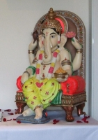 Large colourful Ganesh Murti (HIRE ONLY)