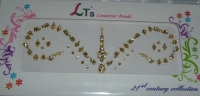 Gold Indian Bridal Bindis