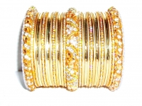 Gold Indian Fashion Bangles