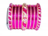 Rani Pink Indian Fashion Bangles
