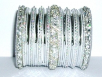 Silver Indian Fashion Bangles