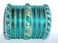 Turquoise Indian Fashion Bangles
