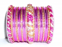 Pink Indian Fashion Bangles