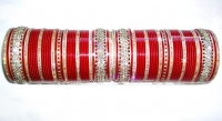 Red Indian Bridal Chura 2.4