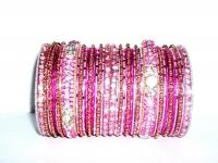 Pink Indian Fashion Bangles