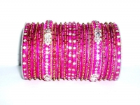 Rani Pink Indian Fashion Bangles