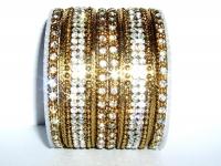 Gold Glistening Bangles