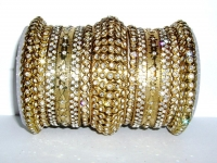 Antique Gold Fashion Bangles