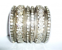 Gorgeous Silver Fashion Bangles