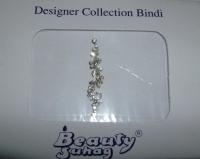 Long Silver Fashion Bindi
