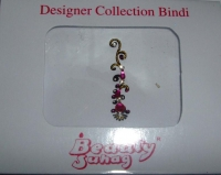 Striking Pink Indian Fashion Bindi