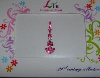 Stylish Pink Indian Fashion Bindi