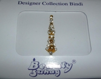 Glistening Gold Indian Fashion Bindi