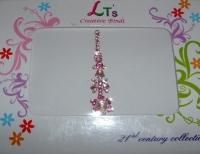Glistening Pink Indian Fashion Bindi