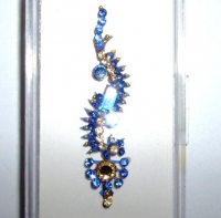 Box Bindi - Royal Blue & Gold