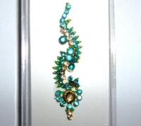 Box Bindi - Turquoise & Gold