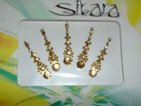 Gift Pack - 5 Gold Fashion Bindis