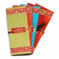 10 Floral Design Indian Money Envelopes (2 pks of 5)