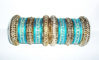 NEW COLLECTION: Aqua Blue Indian Fashion Bangles