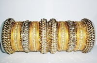 NEW COLLECTION: Yellow Gold Indian Fashion Bangles