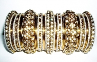 NEW COLLECTION: Gold Indian Fashion Bangles