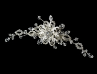Swarovski Crystal Bridal Comb 8117
