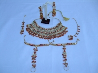 FIVE Piece Stunning Indian Bridal Jewellery Set